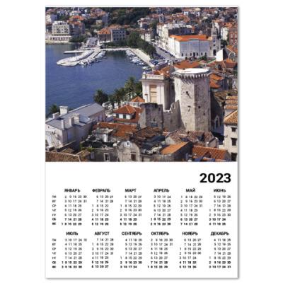 Календарь Сплит, Хорватия