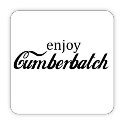 Костер (подставка под кружку) Cumberbatch