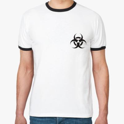 Футболка Ringer-T Biohazard