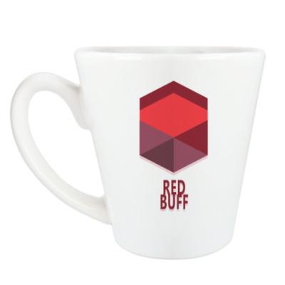 Чашка Латте Red Buff