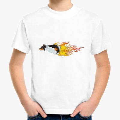 Детская футболка ПЛАМЯ