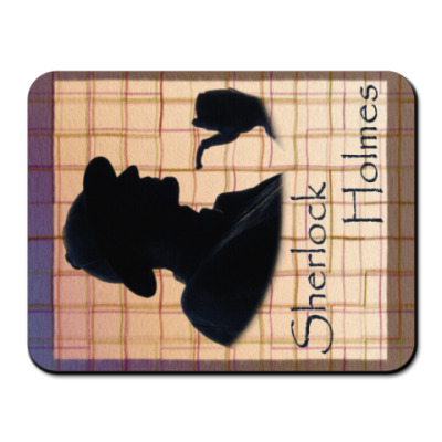 Коврик для мыши `Шерлок Холмс` Коврик д.мыши