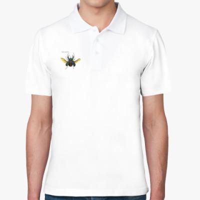 Рубашка поло жук-носорог