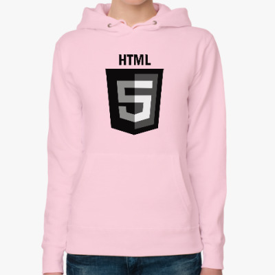 Женская толстовка худи HTML5