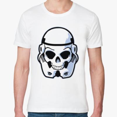Футболка из органик-хлопка Trooper Skull