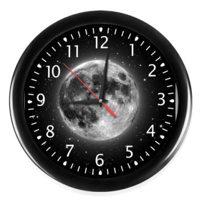 Часы  Звезды и Луна