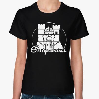 Женская футболка Череп (Хи-Мен)