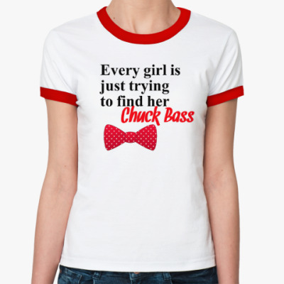 Женская футболка Ringer-T Every Girl