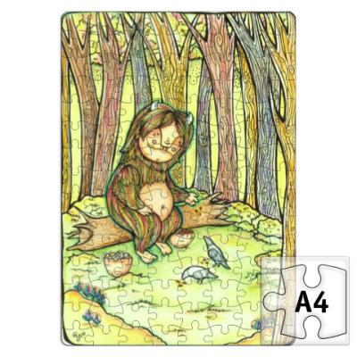 Пазл Лесной тролль