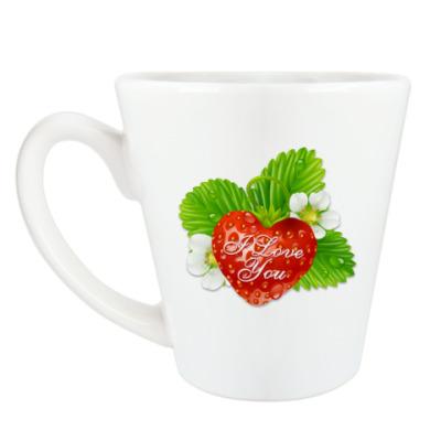 Чашка Латте I Love You