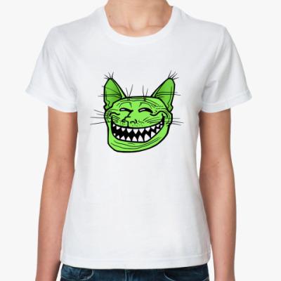 Классическая футболка Кото-тролль