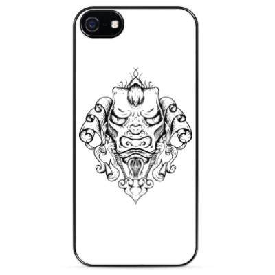 Чехол для iPhone Восточный тату дракон