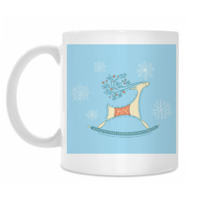 Кружка Снежный олень