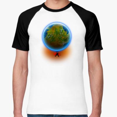Футболка реглан Планета Земля