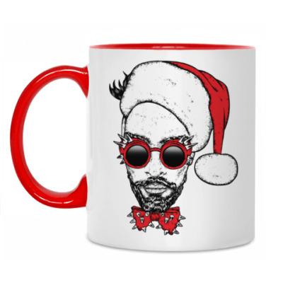 Кружка Хипстер Санта