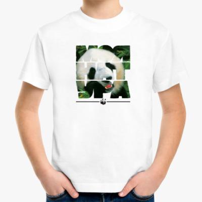 Детская футболка WWF. Моя натура - Панда!