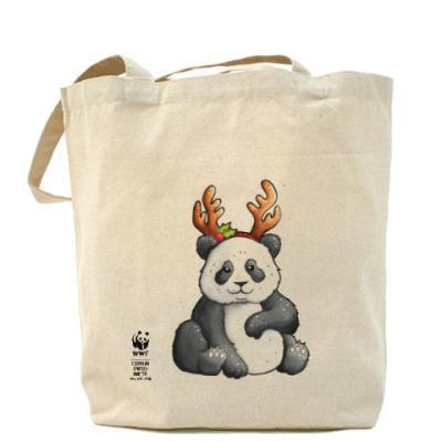 Сумка WWF. Панда-олень