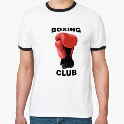 Футболка Ringer-T boxing club
