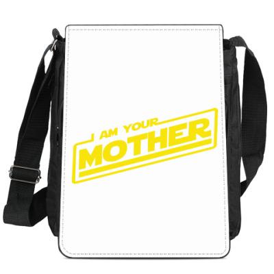 Сумка-планшет Я твоя мать