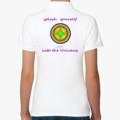 Женская рубашка поло Умножитель блага