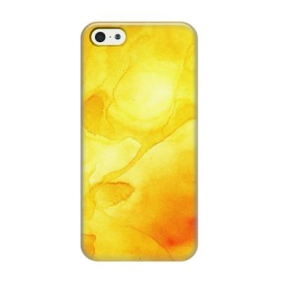 Чехол для iPhone 5/5s Акварельные разводы