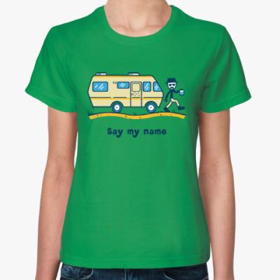 Женская футболка Во все тяжкие