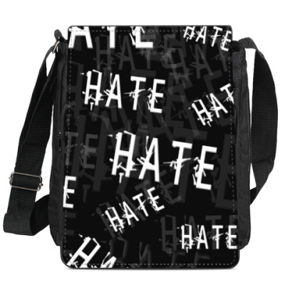 Сумка-планшет Ненависть!