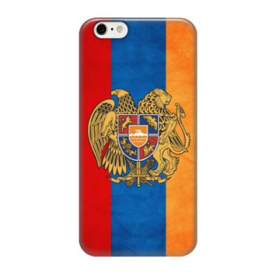 Чехол для iPhone 6/6s Армянский флаг и герб