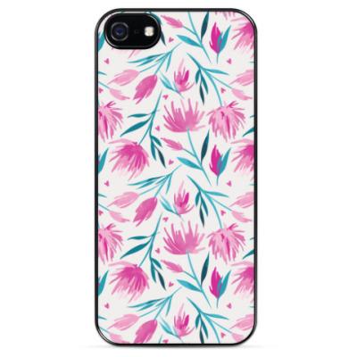 Чехол для iPhone Цветочный принт