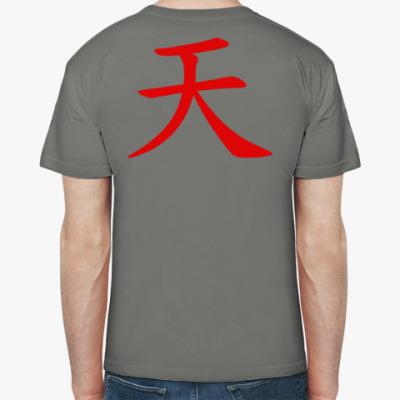 Футболка Street Fighter - Akuma, 'Небо'