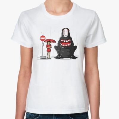 Классическая футболка Без лица