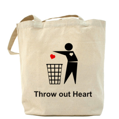Сумка Throw out Heart