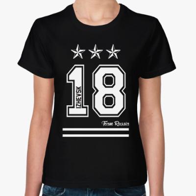 Женская футболка Ижевск