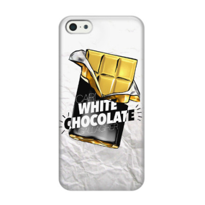 Чехол для iPhone 5/5s Carl WHITE CHOCOLATE Gallagher. Shameless