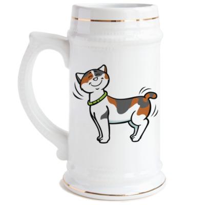 Пивная кружка Кот-котофеич