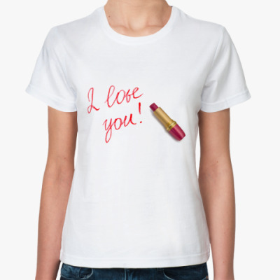 Классическая футболка Помада