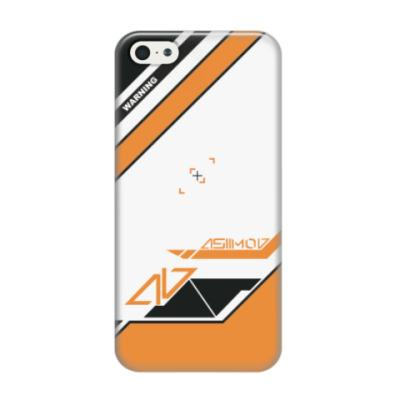 Чехол для iPhone 5/5s Asiimov (Азимов)