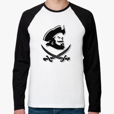 Футболка реглан с длинным рукавом Пират
