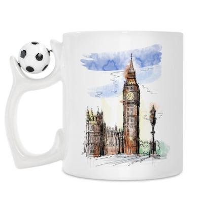 Кружка Биг-Бен -Big Ben-Англия-Лондон