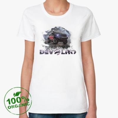 Женская футболка из органик-хлопка DEVOLRO
