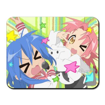 Коврик для мыши  Konata&Akira