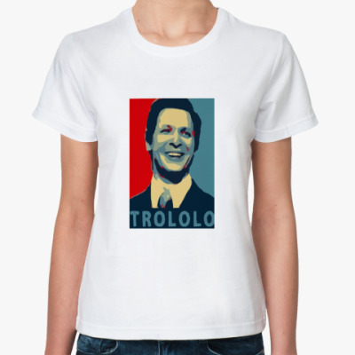 Классическая футболка Mr.Trololo