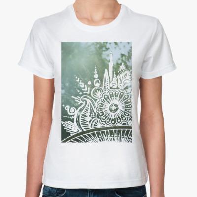 Классическая футболка Букет луговых трав