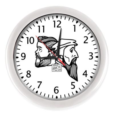 Настенные часы Сперджен и Кальвин
