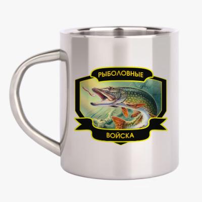Кружка металлическая Рыболовные войска
