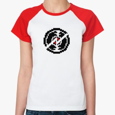 Женская футболка реглан Дэйв Страйдер Homestuck
