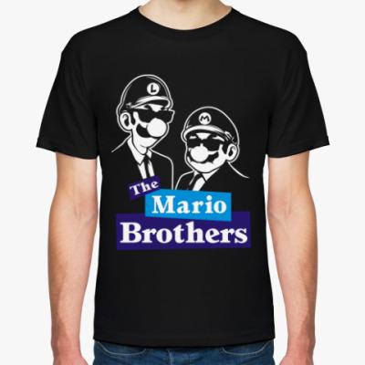 Футболка Братья Марио