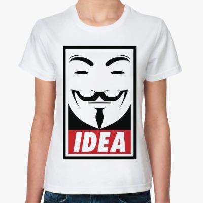 Классическая футболка Анонимус