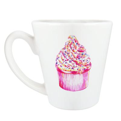 Чашка Латте cake