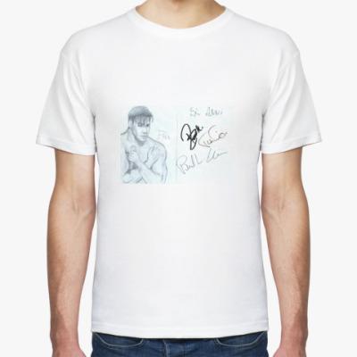 Футболка Раммштайн, автограф солиста.